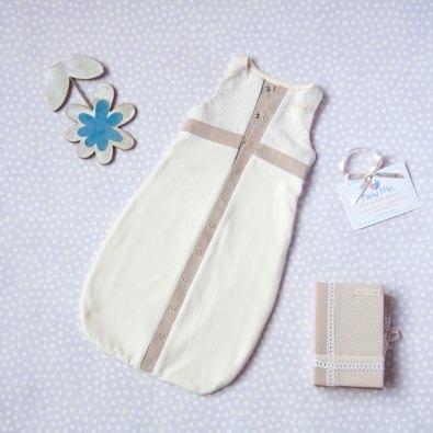 Спальный мешок «Milk»,велюровый на трикотажной подкладке